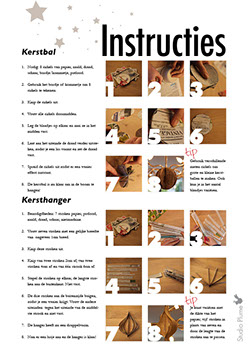 Kerstversiering instructies